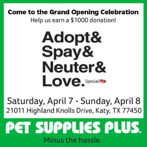 Pet Supplies Plus Grand Opening Weekend @ Pet Supplies Plus | Katy | Texas | United States