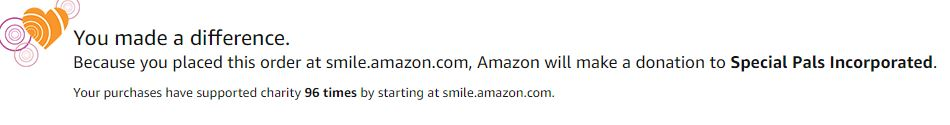 Special Pals Shelter - AmazonSmile Support