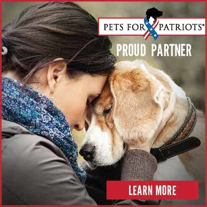 Special Pals is a Proud Partner of Pets For Patriots